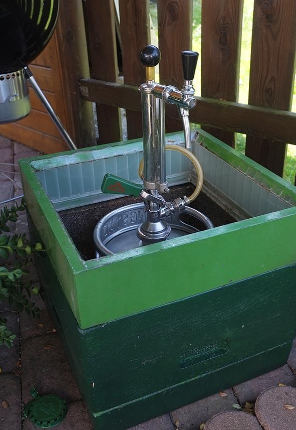 Sommerfest Imkerverein - Bierkühler