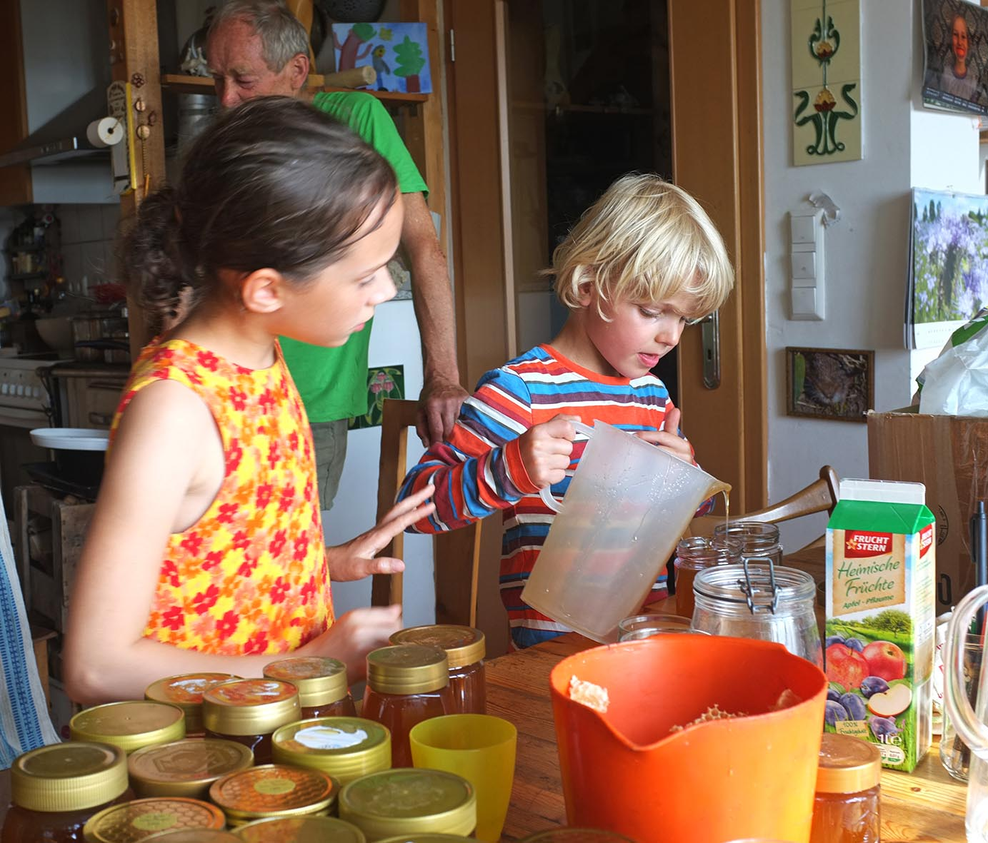 Honigernte Eckis Küche 3