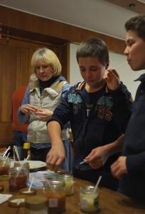 Honigverkostung beim weihnachtlichen Imkertreff