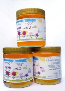 Imkervereins-Malwettbewerb: die Yasmin-Honigkollektion