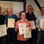 Medaillen-Regen für die Imkerinnen und Imker des Imkervereins Frankenstein