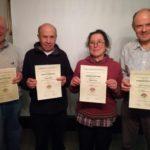 Teilnahme von Mitgliedern des Imkervereins Frankenstein an der hessischen Honigprämierung